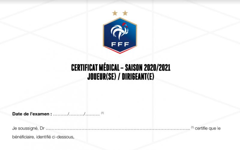 certificat 2020 2021